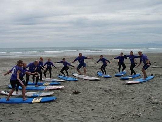 Salt Spray Surf School